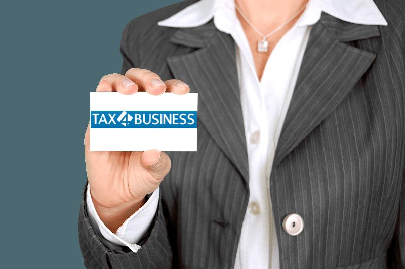 Wizytówka firmowa - Tax4business Usługi księgowe Wrocław