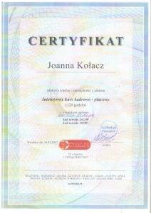 dyplom z kursi kadrowo-placowego