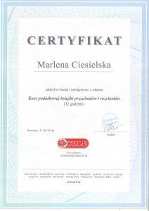 dyplom podatkowej książki przychodów i rozchodów