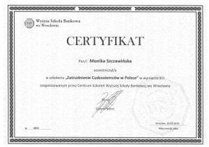 zatrudnienie cudzoziemców w Polsce