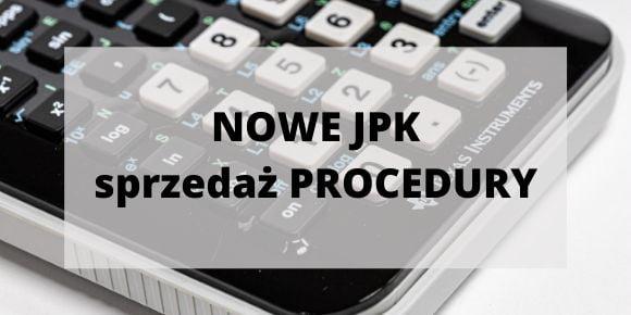 procedury specjalne w nowym JPK